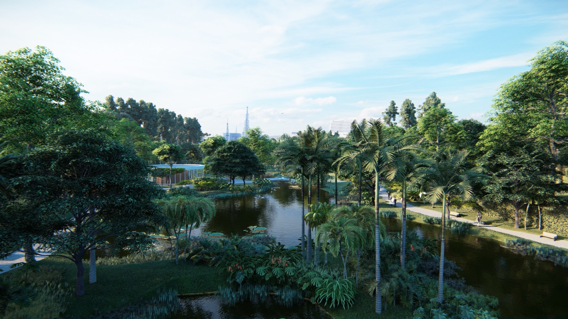 Turning urban cemeteries into botanical gardens and green public spaces